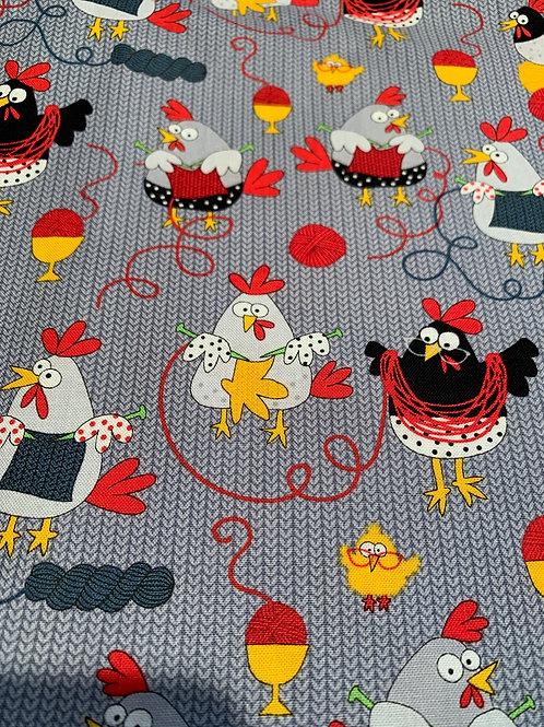 Les poulettes tricotteuses