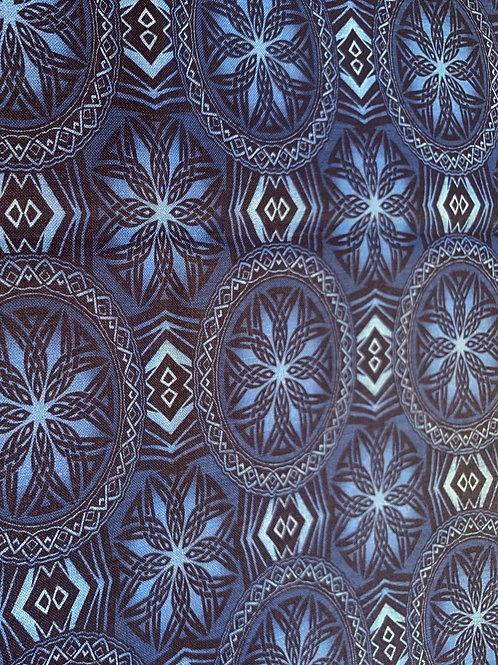 Spirograph bleu