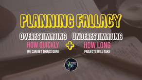 Why are our well-laid plans don't work most of the time?
