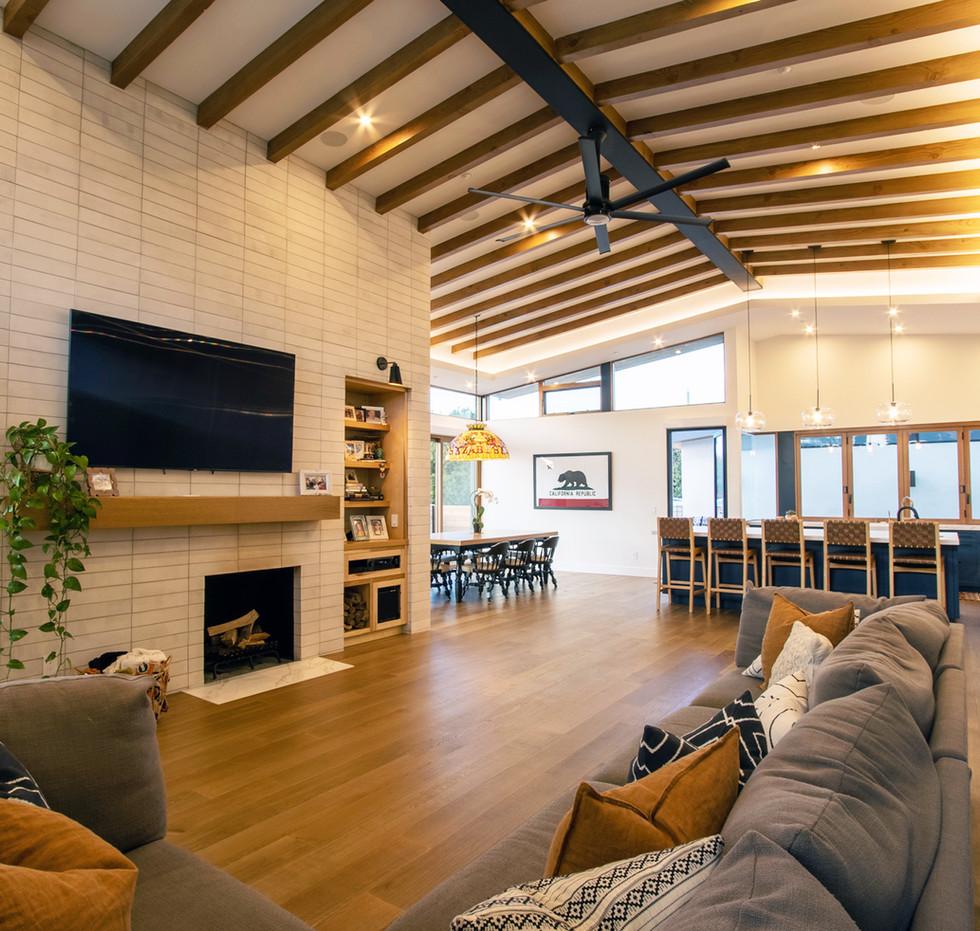 Monte Vista - Living Room Interior