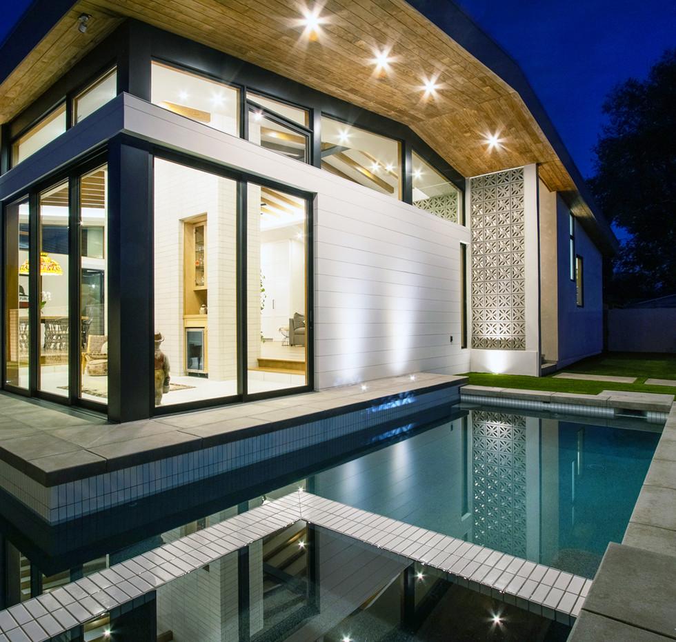 Monte Vista - Exterior + Reflection Pool