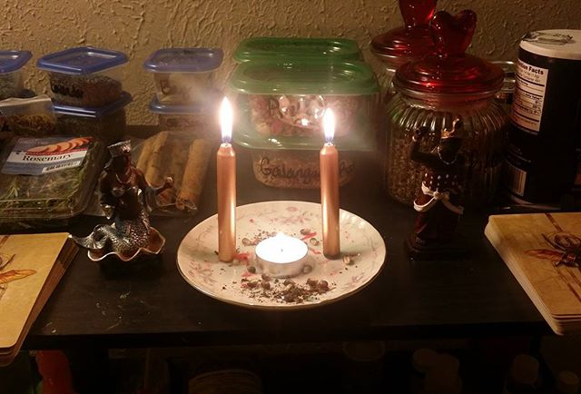 Small Ancestry Altar