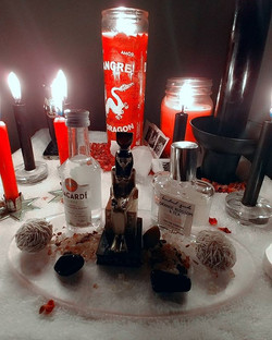 The beginning of Love Passion Work for a Client #voodoo #hoodoo #brujeria #dallasbrujera #dallastaro