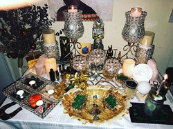 My Altar for Winter Solstice