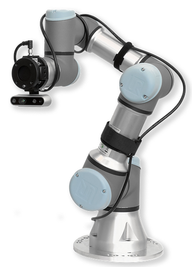 Force torque sensor applied to a UR3e Universal Robot