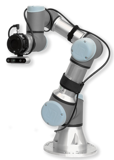 UR robot with a force torque sensing solution by Bota Systems