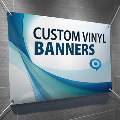 Vinyl Banner 24 inch H x 36 in W