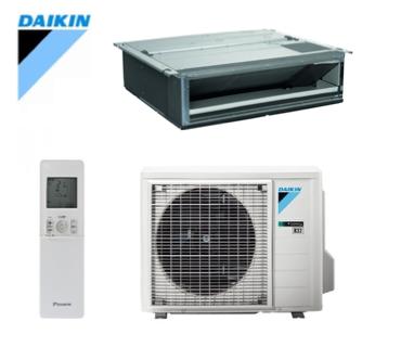 Daikin - split - klein inbouw kanaalmodel - FDXM + RXM