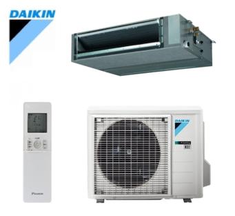 Daikin - split - inbouwmodel met miltizoningkit - FBA + RXM