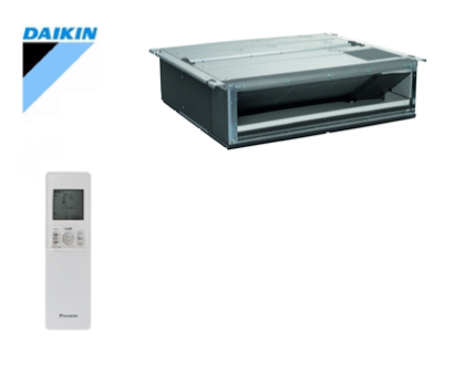 DAIKIN - klein inbouwmodel FDXM-F9