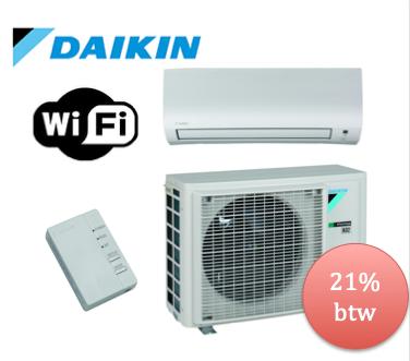 Daikin airco summer deal kopen 2019 Comfora voor een woning jonger dan 10jaar