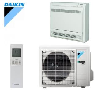 Daikin - split - CLASSIC - wit - vloermodel - FVXM + RXM