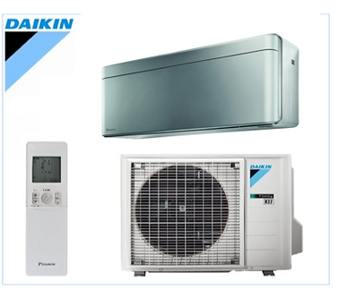 Daikin - split - STYLISH - ZILVER- wandmodel -  FTXA-BS + RXA