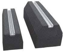 Rubber blokken voor een airco buitenunit