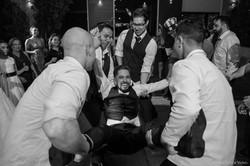 Fotografia de casamento festa