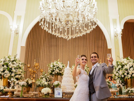 Casamento no Buffet Tulipas Villa Valentim na Mooca em São Paulo