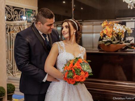 Casamento na Igreja Sagrada Família Matriz São Caetano e Buffet 7 Mares