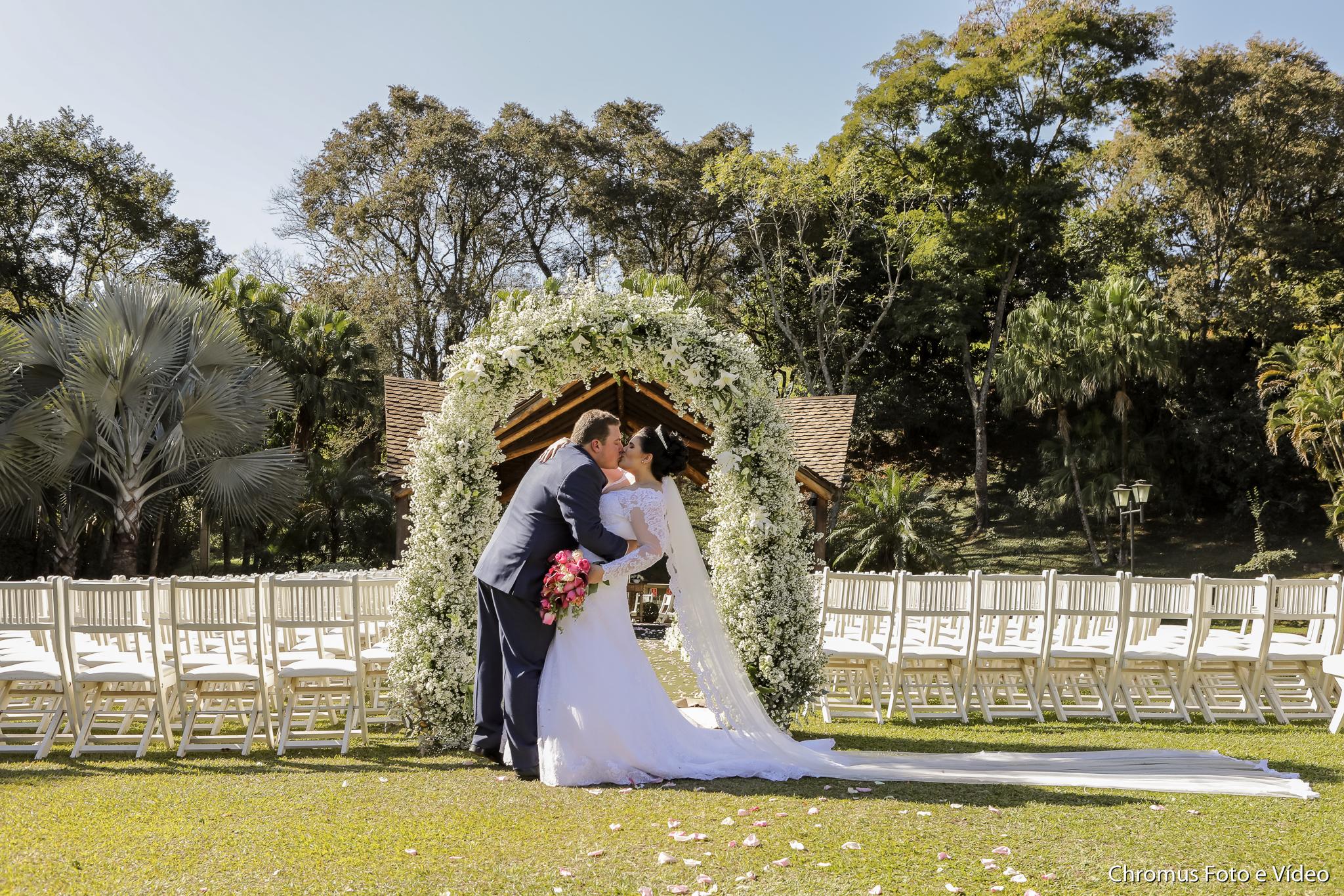 foto casamento sitio chácara campo
