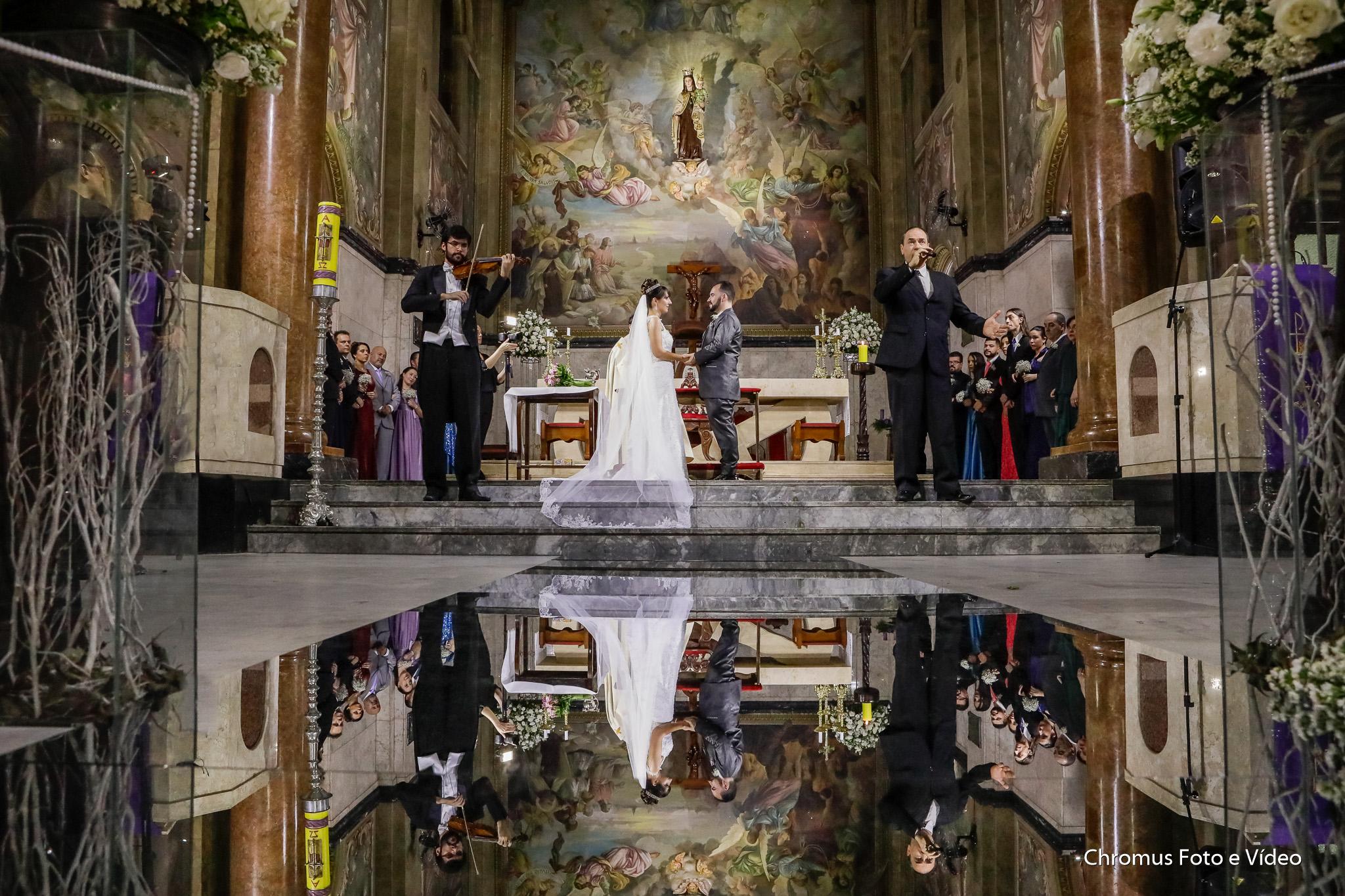 foto casamento catedral do carmo