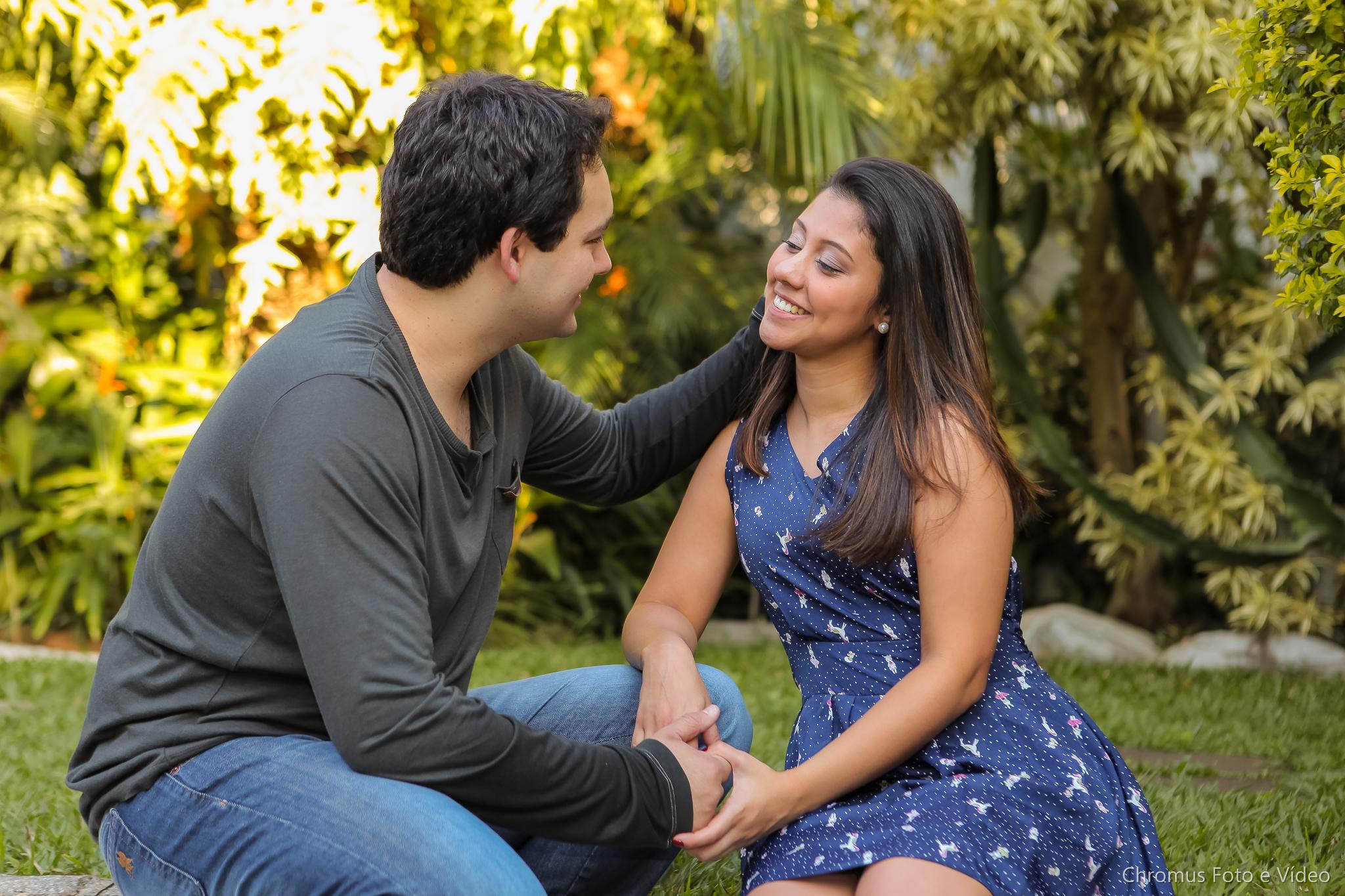 Foto casal noivos Santo André
