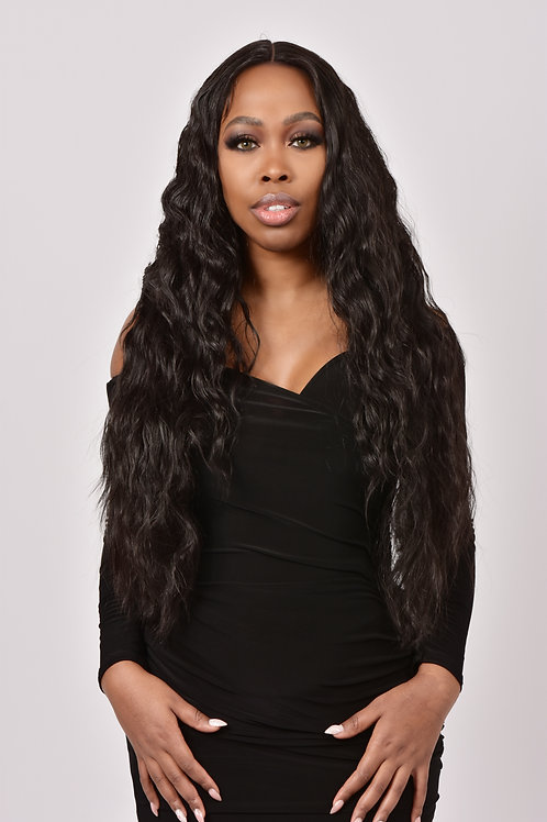 ALILAH - HUMAN HAIR BLENDED LACE WIG
