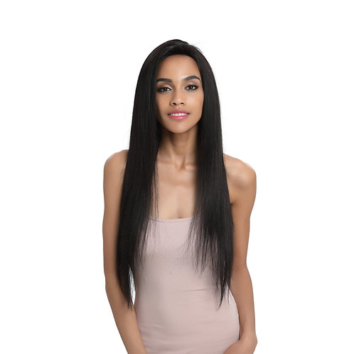 LUNA STRAIGHT =  HUMAN HAIR LACE FRONT / FREE PARTING WIG