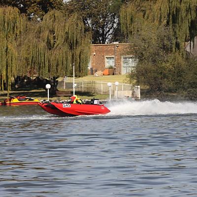 Zodiac Inflatable Boat Racing