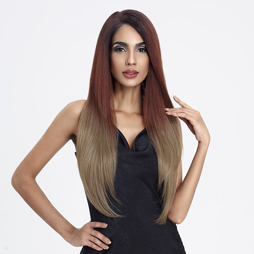 STELLA - HUMAN HAIR BLENDED LACE WIG