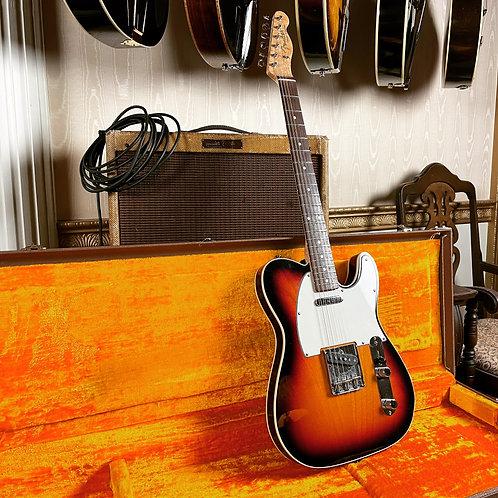 1997 Fender Custom Shop Custom Telecaster 1960 Reissue -  Sunburst