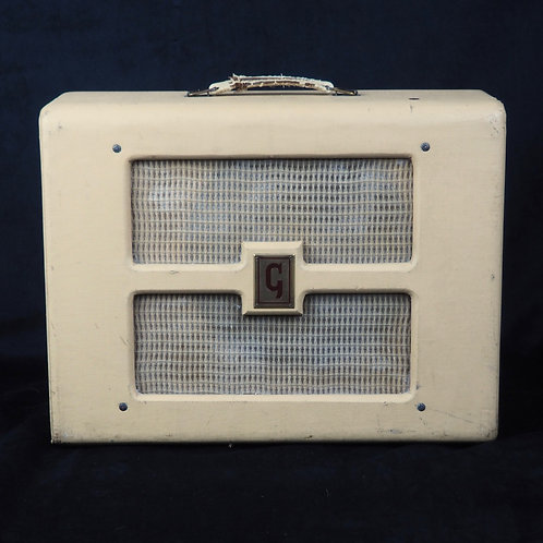 SOLD - 1950s Gibson BR-9 Tube Combo Amp