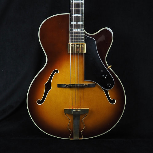 SOLD - 1987 Epiphone by Gibson NVJ-SB Archtop with hardshell case
