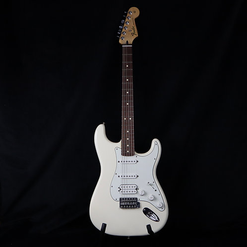 SOLD -2012 Fender Standard Stratocaster HSS - Olympic White - Rosewood Fretboard