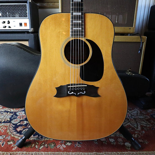 SOLD - 1973 Gibson Heritage Custom Acoustic Dreadnought Guitar