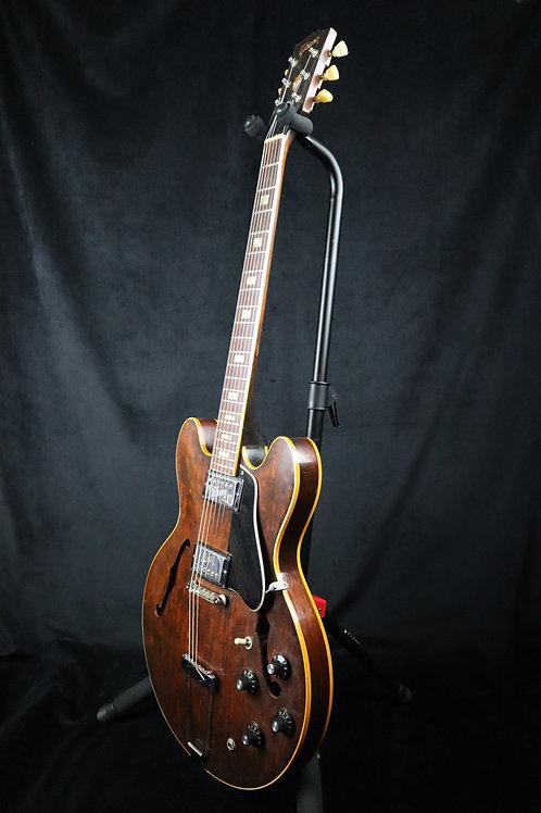SOLD - 1972 Gibson ES-335 TD - Walnut - OHSC - Original Embossed Pickups