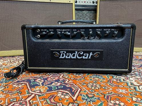 SOLD - Bad Cat Hot Cat 50 Watt Amp Head
