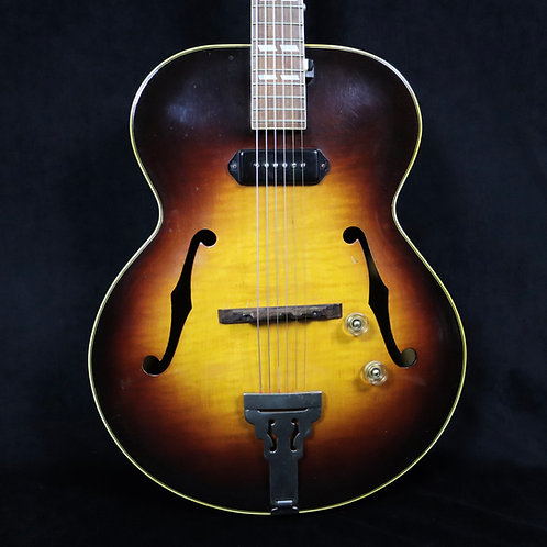 SOLD - 1947 Gibson ES-300 - Sunburst - Flame Maple