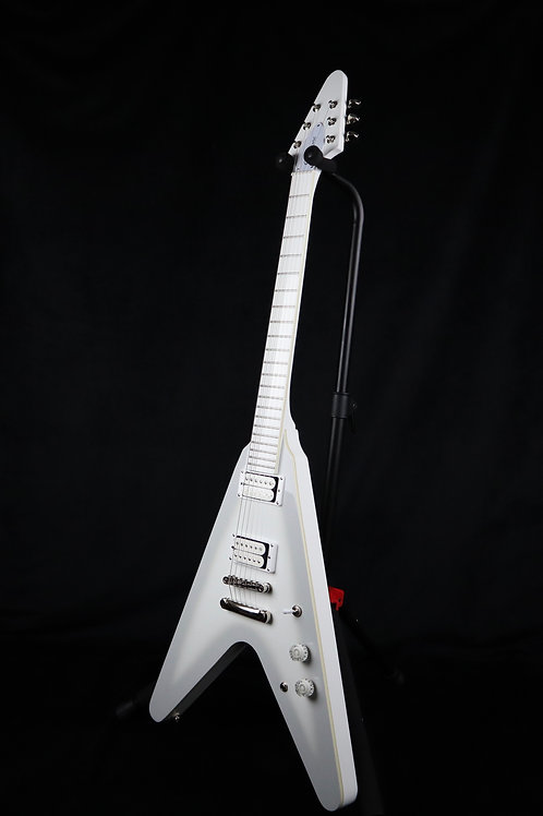 SOLD - Epiphone Brendon Small Snow Falcon Flying V - White Burst