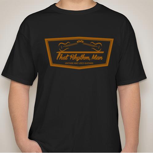 That Rhythm, Man Guitars T-shirt, Available in Men's Sizes M,L,XL,XXL