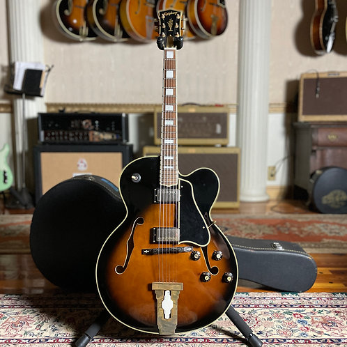 """SOLD - 1970s Epiphone """"L-5"""" Style 17-inch Archtop - Matsumoku Build"""