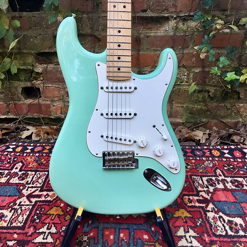 SOLD - 2013 Fender American Special Stratocaster - Surf Green - near mint