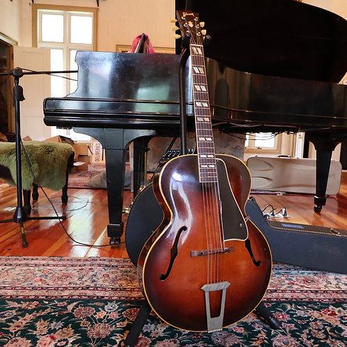 SOLD - 1948 Gibson L-4 - Sunburst - freshly refretted
