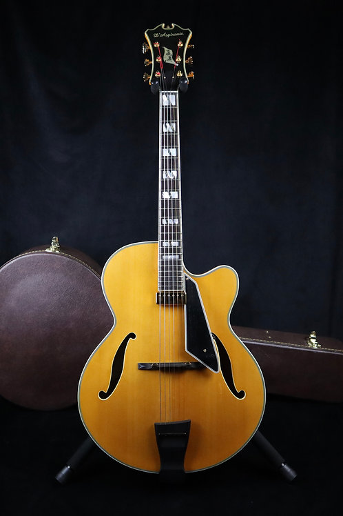SOLD - D'Aspiranto (Peerless) New York Archtop - Natural