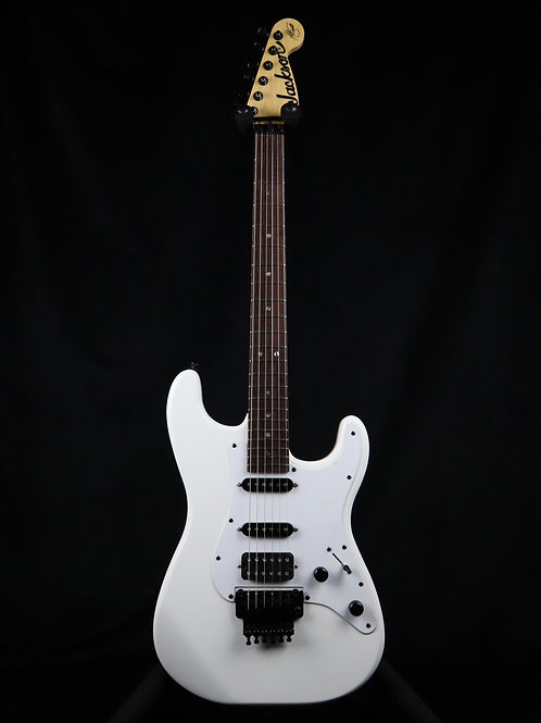 SOLD - Jackson X Series Signature Adrian Smith SDX Rosewood Fretboard Snow White