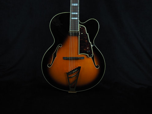 SOLD - New D'Angelico EXL-1 Vintage Sunburst