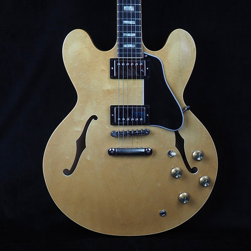 SOLD - 2018 Gibson ES-335 Natural in Like New Condition