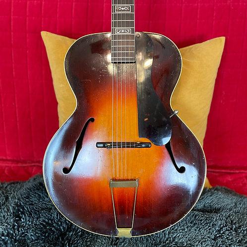 SOLD - 1934 Gibson L-12 -- Sunburst --16 Inch Archtop