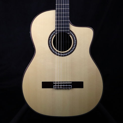 SOLD - New Cordoba GK Pro Nylon Flamenco Acoustic Electric Guitar