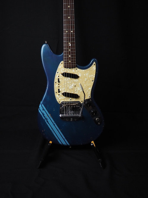 SOLD - 1968 Fender Mustang - Competition Blue - All Original - VIDEO DEMO