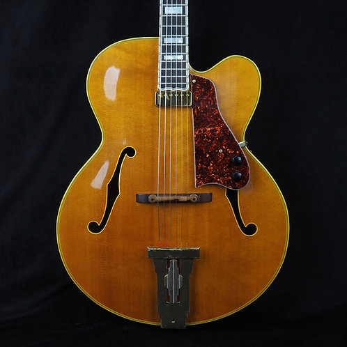 SOLD - 1968 Gibson L-5 CN - Natural - Johnny Smith Pickup - OHSC