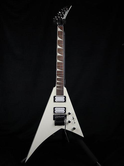 SOLD - Jackson X Series Rhoads RRX24 - Satin White - Factory Demo